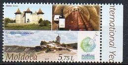 Moldawien 2017 MiNr. 997  ** /mnh ;  Nachhaltiger Tourismus: 1/4 Burg Soroca - Moldawien (Moldau)