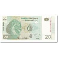 Congo Democratic Republic, 20 Francs, KM:94a, 2003-06-30, NEUF - Congo