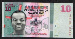SWAZILAND :  10 Emalageni – 2015 - UNC - Swaziland