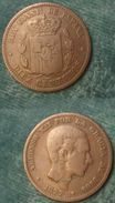 M_p> Spagna Diez Centimos 1877 OM - Altri