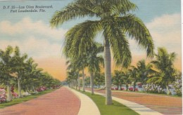 Florida Fort Lauderdale Las Olas Boulevard Curteich