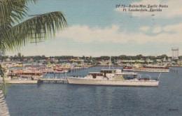 Florida Fort Lauderdale Bahia Mar Yacht Basin 1954 Curteich