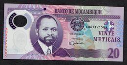 MOZAMBICO (MOZAMBIQUE, MOCAMBIQUE) : 20 Meticais - 2017- UNC - Mozambico