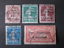 LEBANON SYRIE GRAND LIBAN 1923 TIMBRES DE FRANCE DE 1900 - Líbano