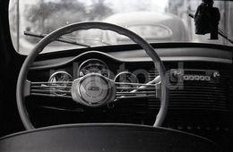 60s ORIGINAL AMATEUR 35mm GOLIATH CAR LISBOA PORTUGAL NEGATIVE PORTUGAL NOT PHOTO NEGATIVO NO FOTO - Autres