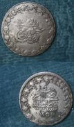 M_p> Turchia ABDUL MEJID 20 Para 1255 Anno 4 In Argento ( Billon ) - Turchia