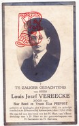 DP Foto Louis J. Vereecke / Pruvost ° Leffinge Middelkerke 1907 † Schoten 1928 - Images Religieuses