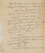 Copie Acte Capitulation Du Cap (HAITI) Signé Le 27 Brumaire An XII (1803) Entre Le Général DUVEYRIER Et J.J. DESPALINES - Documents Historiques
