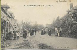 SAINT LAURENT (Cher) Rue De La Bonde - Francia