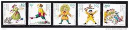 Duitsland 1994 Nr 1555/59 ** Zeer Mooi Lot Krt 3751 - [7] République Fédérale