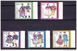 Duitsland 1993 Nr 1528/32 ** Zeer Mooi Lot Krt 3753 - [7] République Fédérale