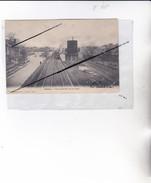 CHAUNY (02) Vue Générale De La Gare (Résevoir D'eau) (angle Bas Droit Corné) - Chauny