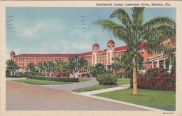 Florida Sebring The Kenilworth Lodge On Lakeview Drive 1944 Curt