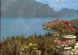 Gardasee Malcesine - Lago Di Garda - 1102 - Formato Grande Viaggiata – E 3 - Italia