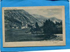 Le Nostre Frontiere -village Alpin-G PRATTI- -a Voyagé En 1915-édition S T A - Italia