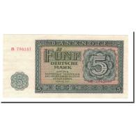 République Démocratique Allemande, 5 Deutsche Mark, 1955, KM:17, NEUF - 5 Deutsche Mark