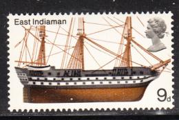 Great Britain 1969 MNH Scott #577 9p East Indiaman British Ships - 1952-.... (Elizabeth II)
