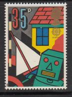 Great Britain 1989 MNH Scott #1259 35p Doll House, Boat, Robot - Toys - EUROPA - Enfance & Jeunesse