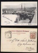 MANFREDONIA - FOGGIA - 1902 - PANORAMA E PORTO. BELLA ANIMAZIONE. - Manfredonia