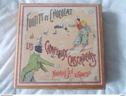 Footitt Et Chocolat Ou Les Chapeaux Cascadeurs Version Luxe En Coffret Bois - Jeux De Société