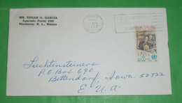 MEXIKO MEXICO - Brief Letter Lettre 信 Lettera Carta письмо Brev 手紙 จดหมาย Cover Envelope (Foto)(35095) - Messico