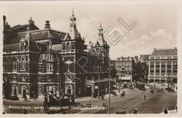 Amsterdam (Pays-Bas) - Leidseplein (Place Principale) Met Stadsschouwburg (Théâtre) - Amsterdam