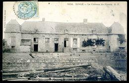 Cpa Du 35  Dingé Le Château Du Plessis     Sep17- 70 - France