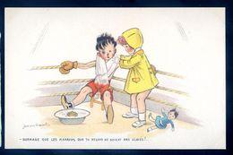 Cpa Illustrateur Jean Cheval .. Dommage Que Les Marrons Que Tu Reçois Ne Soient Pas Glacés !!    Sep17- 70 - Cheval