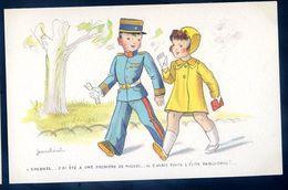 Cpa Illustrateur Jean Cheval .. Colonel    Sep17- 70 - Cheval