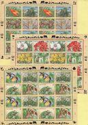 Nations Unies - Especes Vegetales Menacees - 1996 - 3 Blocs - Cote 79.50€ - Autres - Europe