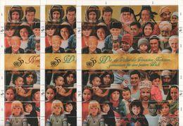 Nations Unies - Portaits Des Peuples Du Monde - 1995 - 3 Blocs - Cote 40€ - Autres - Europe
