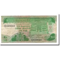Mauritius, 10 Rupees, 1985, KM:35a, TTB - Maurice