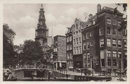 Amsterdam (Pays-Bas) - Raamgracht Met Westertoren (Echte Fotografie) - Amsterdam