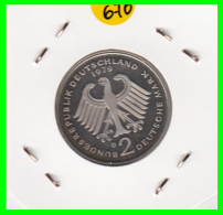 ALEMANIA -GERMANY - MONEDA DE  2.00 DM  AÑO 1979-D - KURT SCHUMACHER - S/C - [ 7] 1949-… : RFA - Rep. Fed. Alemana