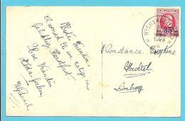 247 Op Postkaart Met Sterstempel (Relais) * WYCHMAEL (LIMB.) * - 1922-1927 Houyoux