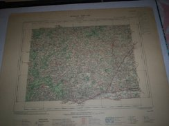 CARTE GEOGRAPHIQUE  G - Format  45 X 71 De LOIR Et CHER_SARTHE_Feuille_SAINT CALAIS_XIII_ 17 ) En 1897 - Geographische Kaarten