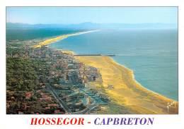 CAPBRETON HOSSEGOR Vue Generale Aerienne A L Horizon Les Pyrenees 2(scan Recto-verso) MA835 - Hossegor