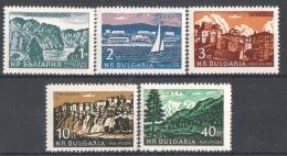 30-249 / BG - 1962 LANDSCAPES  Mi 1319/21 ** - Bulgarie