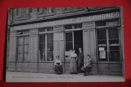 Saint Galmier - Postes Et Télégraphes - Autres Communes