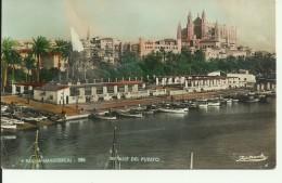 Mallorca - Palma - Detalle Del Puerto - 2 Scans - Palma De Mallorca