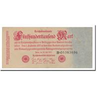 Allemagne, 500,000 Mark, 1923, KM:92, 1923-07-25, TTB+ - 1918-1933: Weimarer Republik