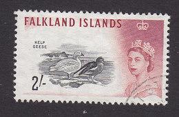 Falkland Islands, Scott #139, Used, Queen Elizabeth II & Birds, Issued 1960 - Falkland Islands