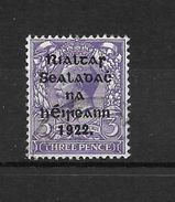 LOTE  1472   ////  (C005)  IRLANDA  EIRE    YVERT Nº: 6 - 1922 Provisorische Regierung