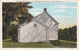New York Saratoga Springs The Freeman House At Saratoga Battlefi