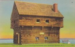 New York Saratoga Springs The Old Blockhouse At Saratoga Battlef