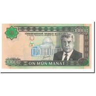 Turkmanistan, 10,000 Manat, 2003, KM:15, NEUF - Turkménistan