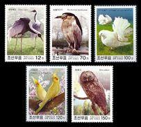 North Korea 2003 Mih. 4686/90 Fauna. Birds MNH ** - Corée Du Nord