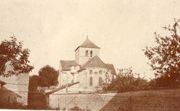 PHOTO FRANÇAISE - L'EGLISE DE COURMELOIS PRES DE PRUNAY - REIMS - MARNE 1914 1918 - 1914-18