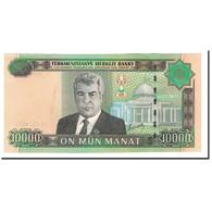 Turkmanistan, 10,000 Manat, 2005, KM:16, NEUF - Turkménistan