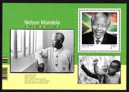 CANADA 2015 Black History Month/Nelson Mandela: Miniature Sheet UM/MNH - Blocks & Kleinbögen